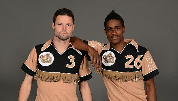Caribous of Colorado, with fringe jerseys